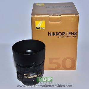 Nikon Obiettivo AF-S 50 f/1,4 G