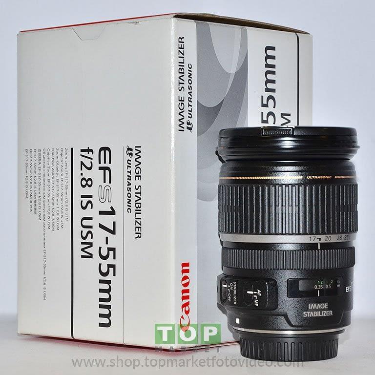 26970 Canon Obiettivo EF-S 17-55mm f/2.8 IS USM