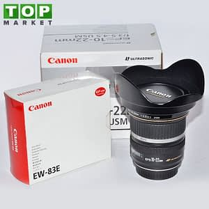 Canon Obiettivo EF-S 10-22mm f/3.5-4.5 USM + Paraluce