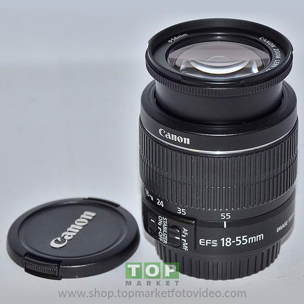 Canon Obiettivo EF-S 18-55mm f/3.5-5.6 IS II