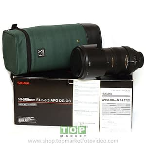 Sigma Obiettivo Nikon 50-500mm f/4.5-5.6 APO DG OS HSM