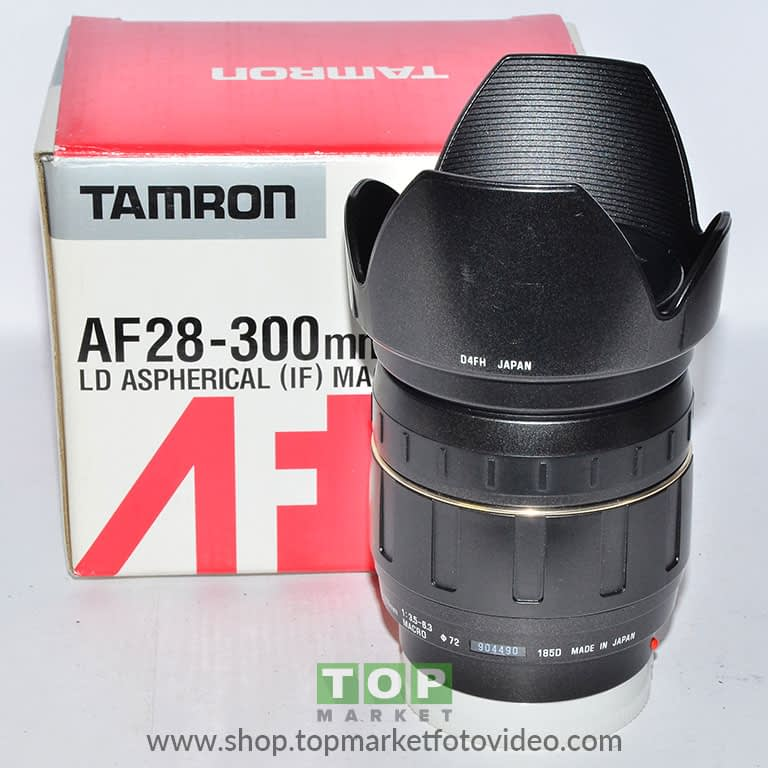 Tamron Obiettivo Minolta AF 28-300mm f/3.5-6.3 IF Macro