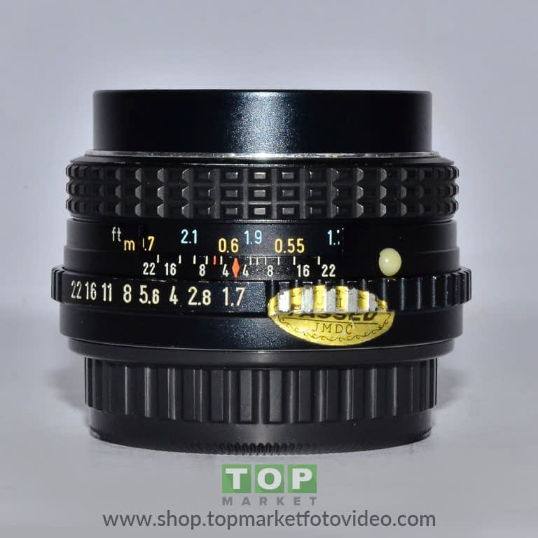 27760 Pentax Obiettivo M 50mm f/1,7