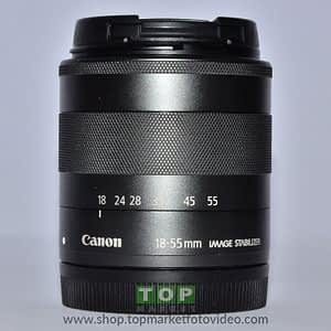 Canon Obiettivo EF-M 18-55mm IS STM