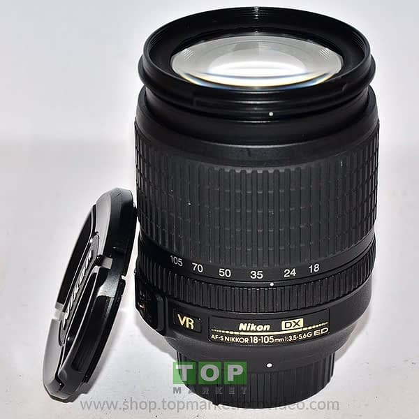 Nikon Obiettivo AF-S 18-105mm f/3.5-5.6 VR G