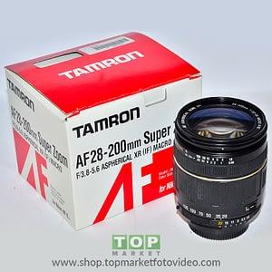 Tamron Obiettivo Nikon AF 28-200mm f/3.8-5.6 Macro