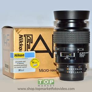 27198 Nikon Obiettivo 105mm f/2.8 Micro D