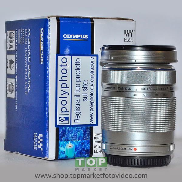 27200 Olympus Obiettivo 40-150mm f/4-5.6 Silver R