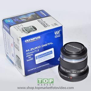 Olympus Obiettivo 45mm f/1.8 + Paraluce LH-40B