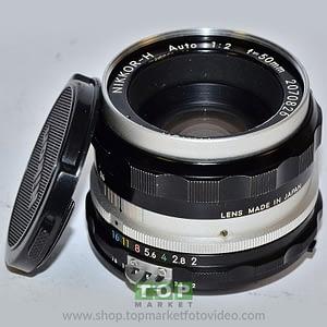 Nikon Obiettivo H 50mm f/2 + PK3 F