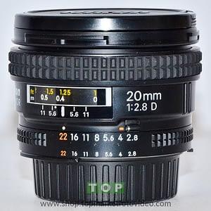 27202 Nikon Obiettivo AF 20mm f/2.8 D