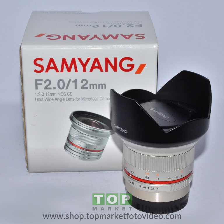 27789 Samyang Obiettivo Fuji 12 f/2 NCS CS X