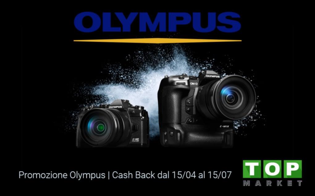 Promozione Olympus | Cash Back dal 15/04 al 15/07