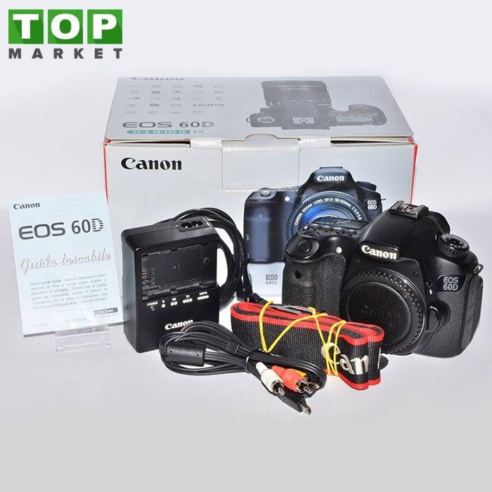 25929 Canon EOS 60D (solo corpo)
