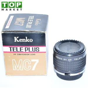 Kenko Tele Plus 2X conversion lens MC7 for Olympus OM