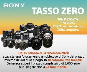 Sony Tasso Zero 2020