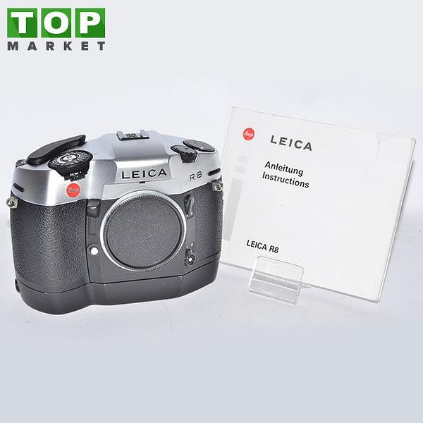 Leica R8 fotocamera analogica (solo corpo) + Motor Winder 09E60