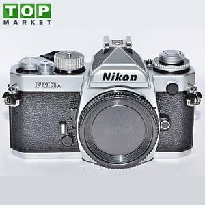 Nikon FM-3a Silver fotocamera analogica (solo corpo)