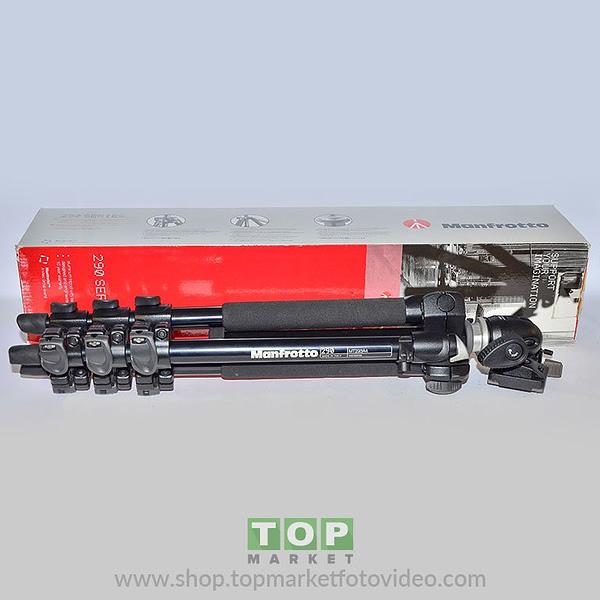 Manfrotto Cavalletto Mk293 A4 + Testa Sfera 494 RC2
