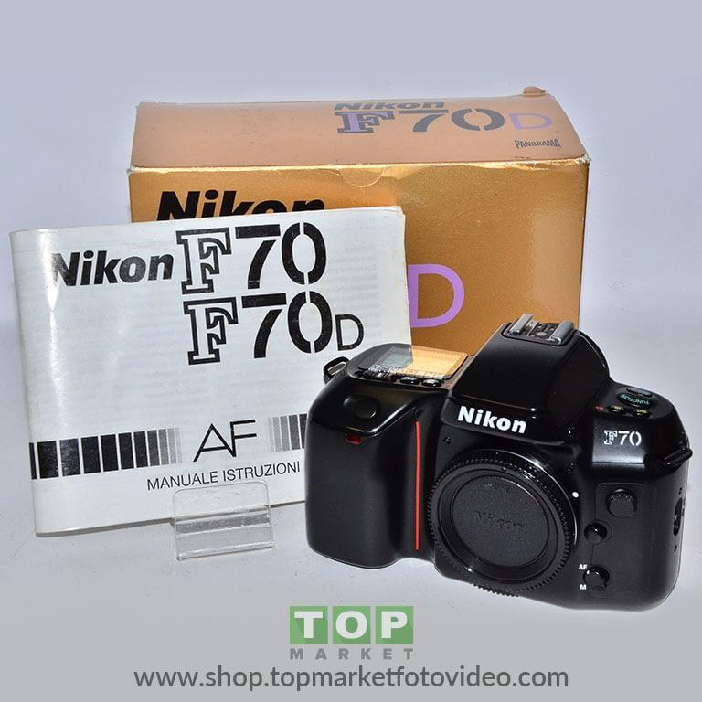 27444 Nikon F70D (solo corpo)