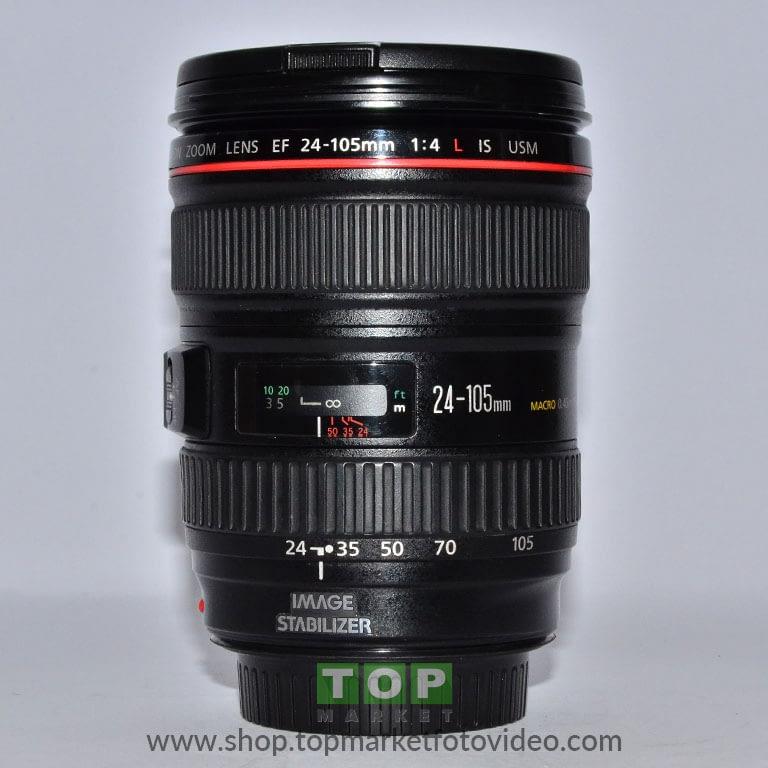 27609 Canon Obiettivo EF 24-105mm  4 L IS USM
