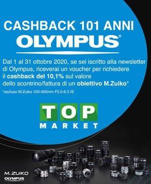 Cashback 101 Olympus