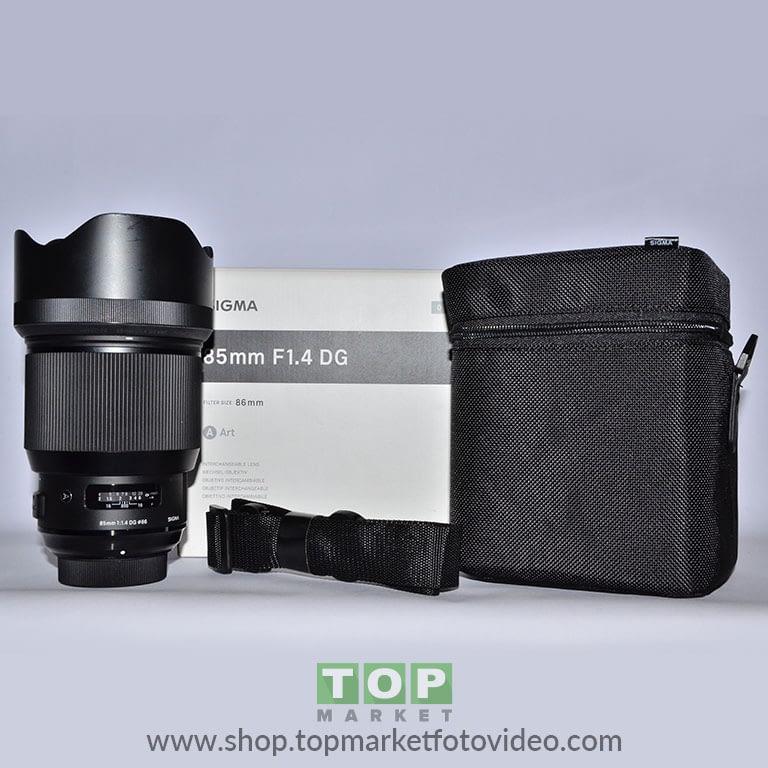 27585 Sigma Obiettivo Nikon 85mm f/1.4 Art