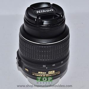 Nikon Obiettivo AF-S 18-55mm f/3.5-5.6 VR G