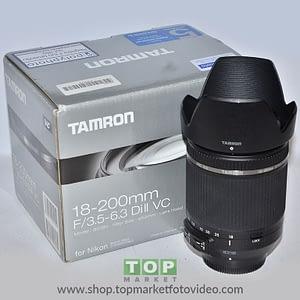 Tamron Obiettivo Nikon 18-200mm f/3.5-6.3 DI II VC