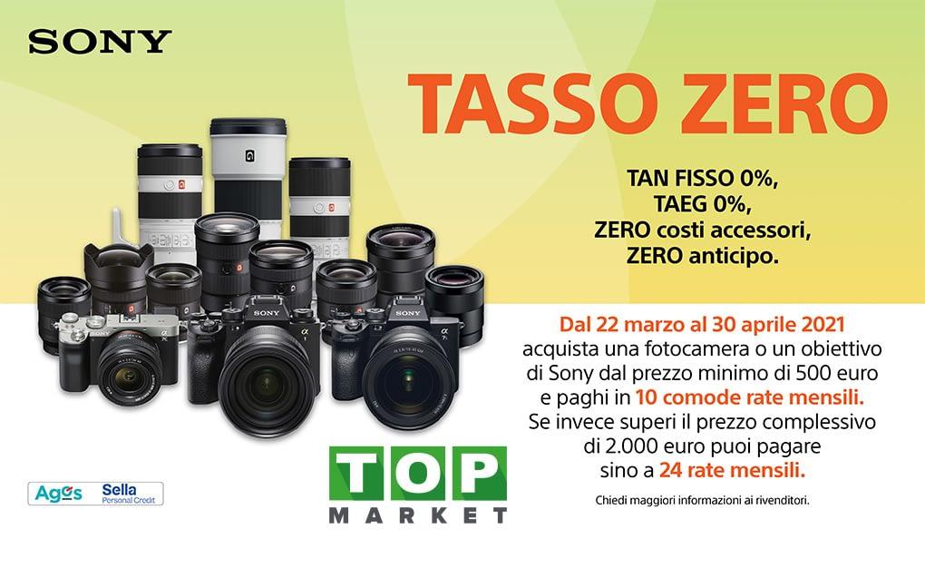TASSO ZERO SONY | TAN 0% – TAEG 0%
