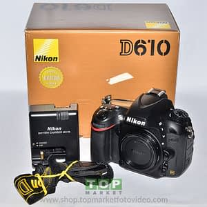 Nikon D610 (solo corpo)