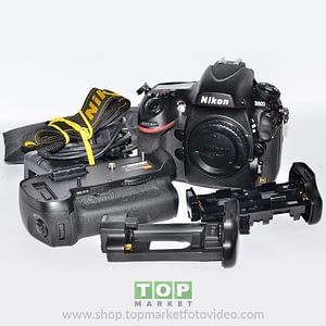 Nikon D800 (solo corpo) + Grip Pixel MB12