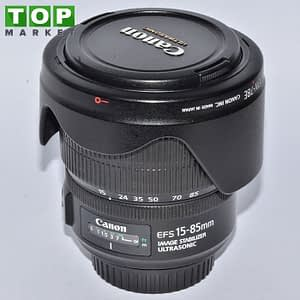 Canon Obiettivo EF-S 15-85mm f/3.5-5.6 IS USM