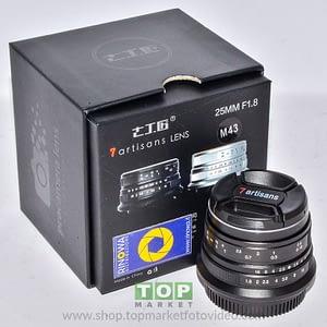 7Artisans Obiettivo 25mm f/1.8 M 4/3 per Olympus - Panasonic