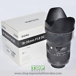 Sigma Obiettivo Nikon 18-35mm f/1.8 Art