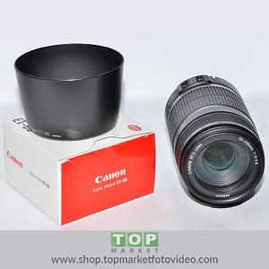 Canon Obiettivo EF-S 55-250mm f/4-5.6 IS + Paraluce