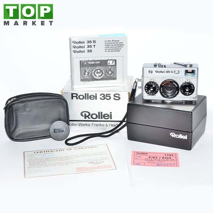 23963 Rollei 35S Silver Special Edition 50 Anni fotocamera analogica