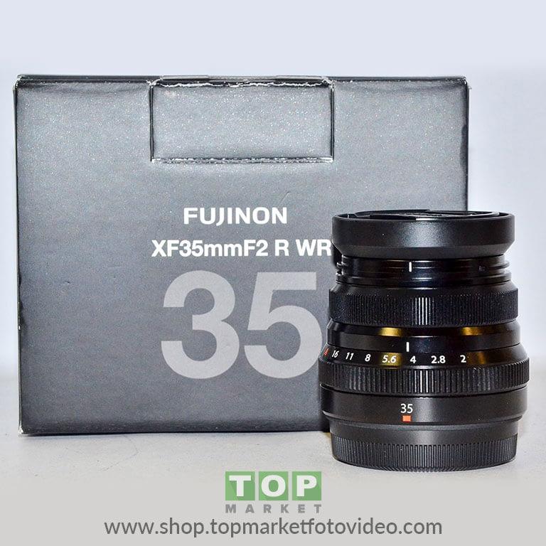 27134 Fujifilm Obiettivo XF 35mm f/2 R WR