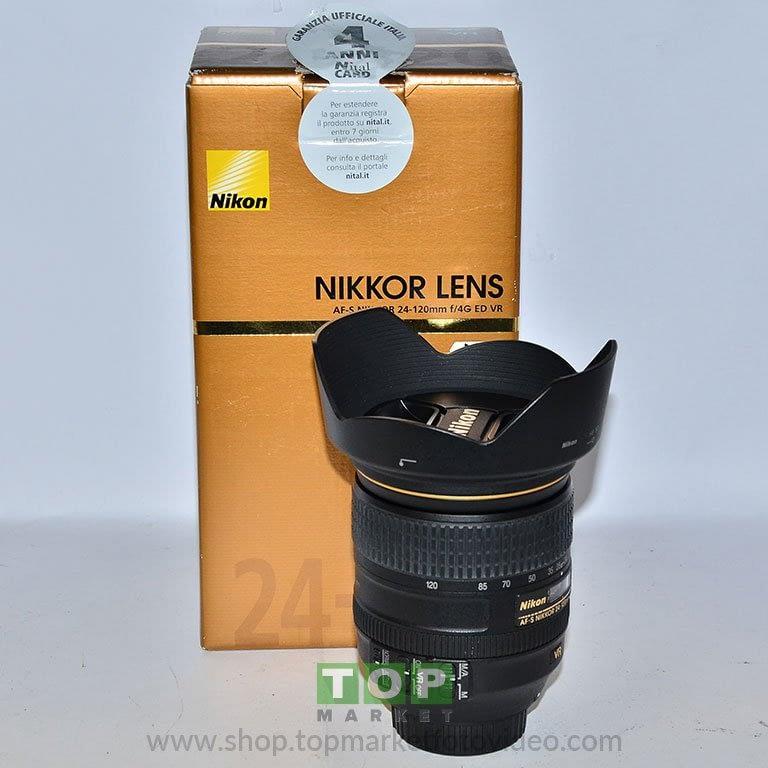 26968 Nikon Obiettivo AF-S 24-120mm f/4 G VR