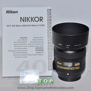 Nikon Obiettivo 40mm f/2.8 Micro