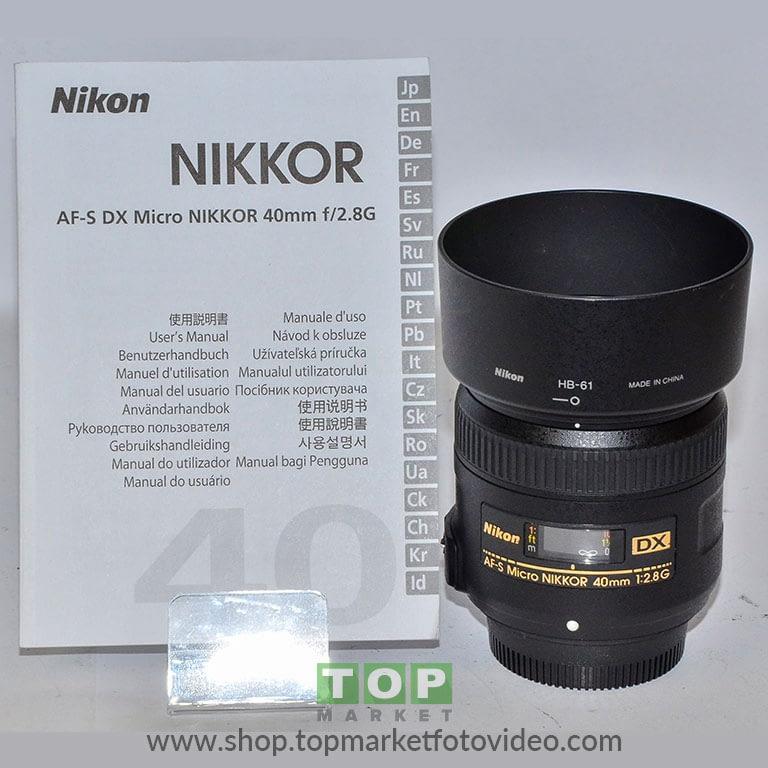 27335 Nikon Obiettivo 40mm f/2.8 Micro