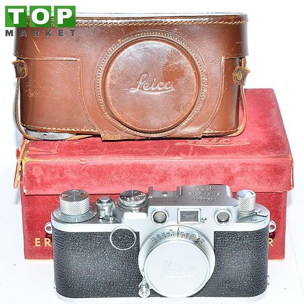 Leica II F fotocamera analogica + Obiettivo Elmar 50mm f/3.5