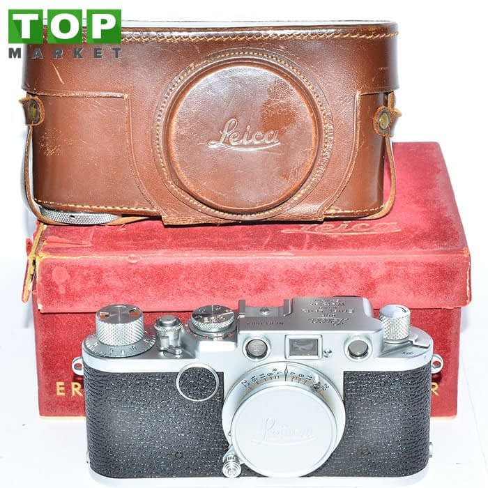 24413 Leica II F fotocamera analogica + Obiettivo Elmar 50mm f/3.5
