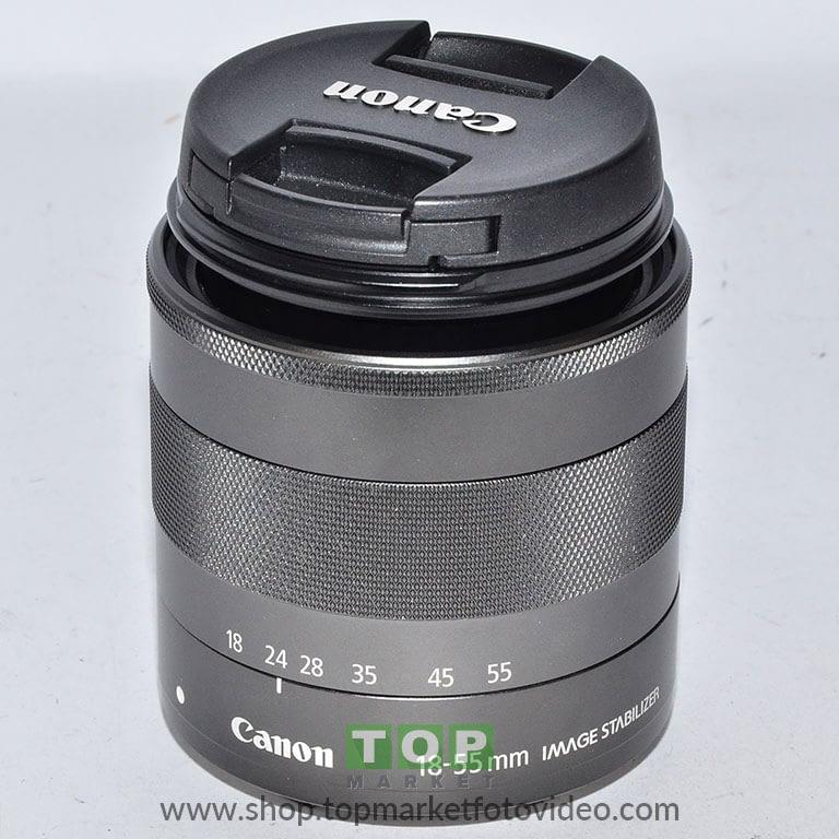 27448 Canon Obiettivo EF-M 18-55mm IS STM