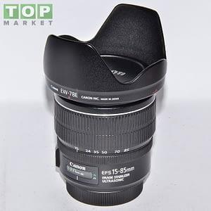 Canon Obiettivo EF-S 15-85 3.5-5.6 IS USM