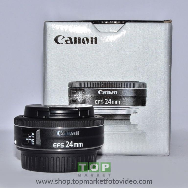 27757 Canon Obiettivo EF-S 24mm f/2,8 STM
