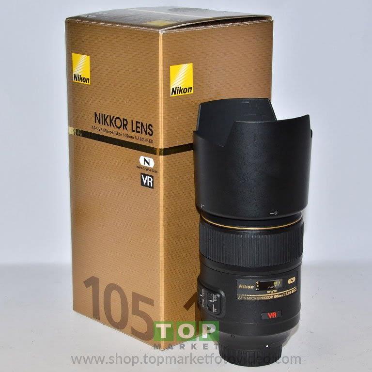26969 Nikon Obiettivo AF-S 105mm f/2.8 G VR