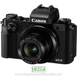 "Canon Powershot G5X Fotocamera (20 Mp 4X 24-100 3"" Wifi FHD IS)"