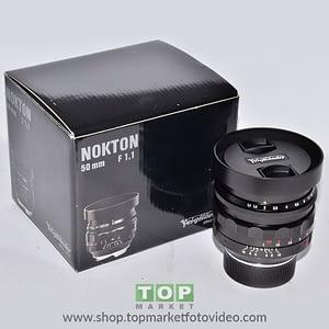 Voigtländer Nokton Obiettivo Leica M 50mm f/1.1