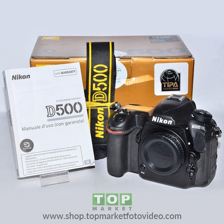 27433 Nikon D500 (solo corpo)